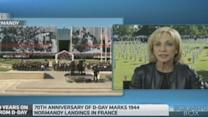 World leaders commemorate D-Day in Normandy