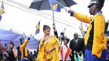 Rihanna tiene su propia calle en Barbados