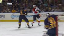 Nick Bjugstad finds the top corner on Miller