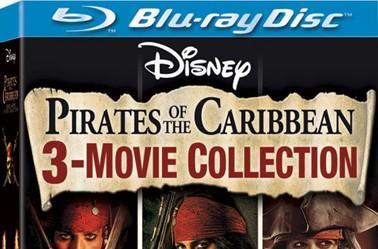 Pirates of the Caribbean trilogy on Blu-ray September 16th
