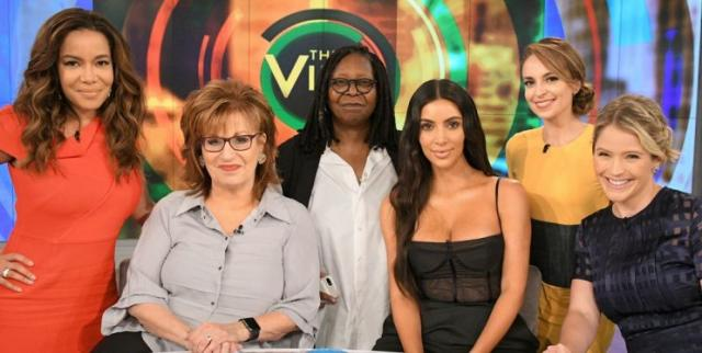 Kim responded to the criticism on The View [Photo: Getty]