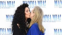Meryl Streep and Cher's kiss is one of the few good things to happen in forever