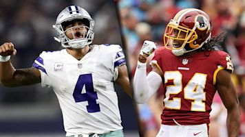 Follow live: Cowboys and Redskins clash