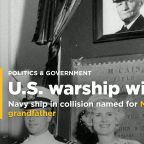 Navy ship in collision named for McCain's dad, grandfather