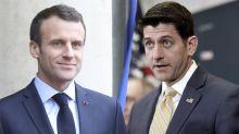 Paul Ryan invites France's Macron to address Congress next month