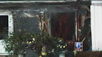 Fire breaks out at home in Newark, Del.