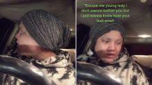 TikTok user's 'panic attack' after stranger knocks on her window
