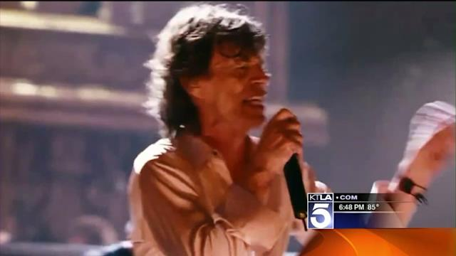 Rolling Stones Kick Off Their World Tour in Los Angeles