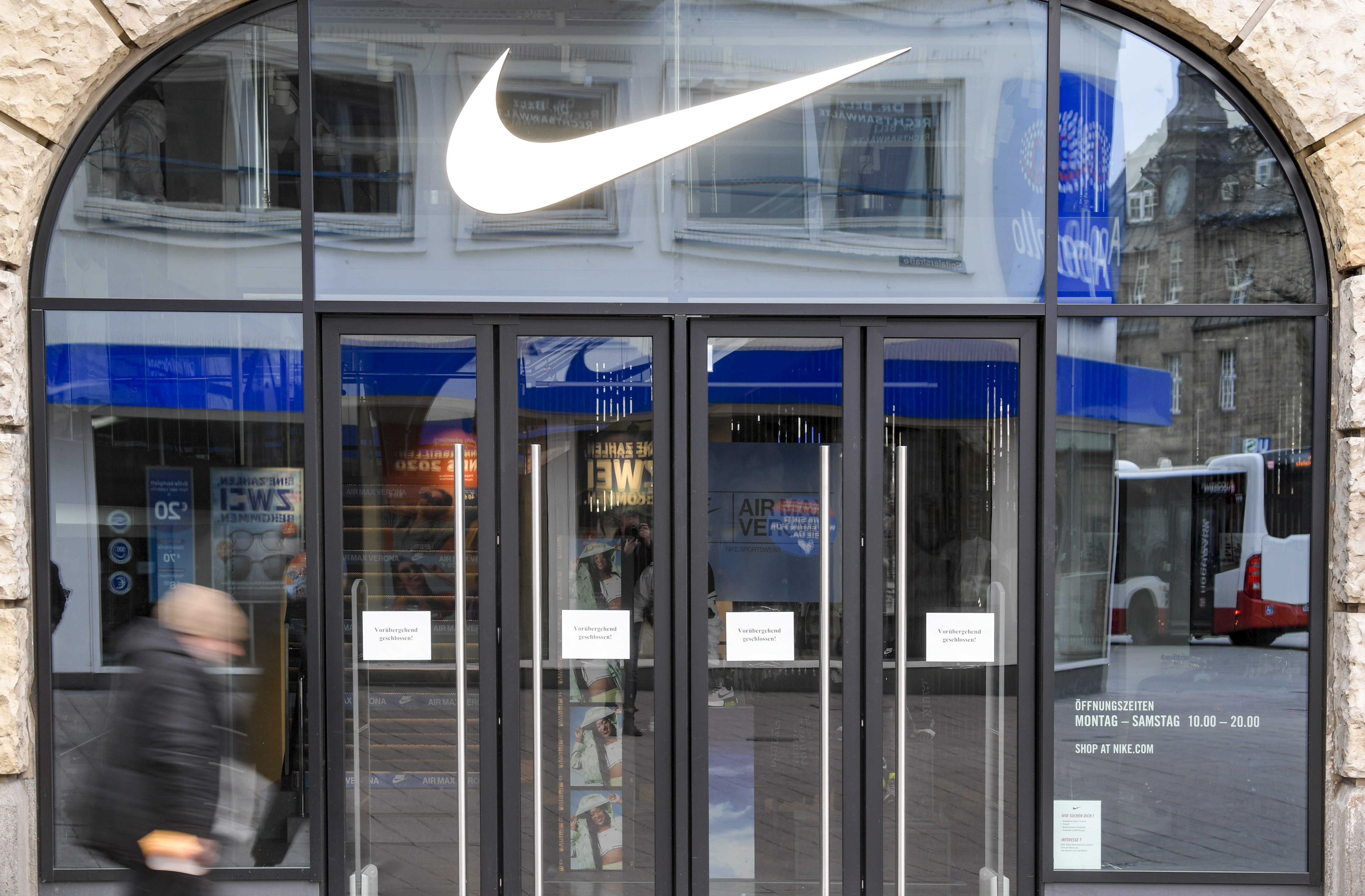 Nike has reopened almost all stores in China and South Korea