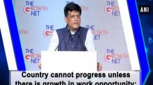 Country cannot progress unless there is growth in work opportunity: Piyush Goyal