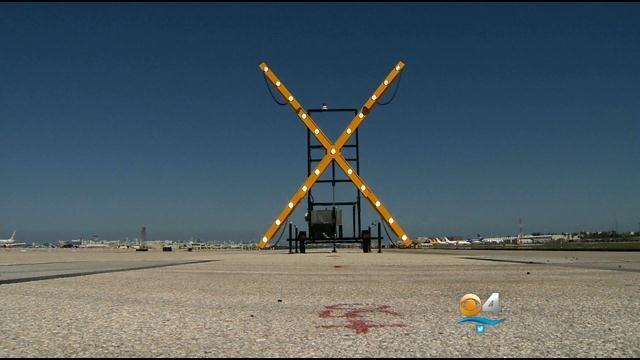 "MIA's Big ""X"" Catching The Eye Of Drivers & Fliers"