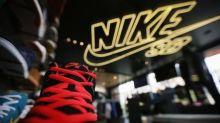 Nike Stock Rises 8%