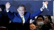 Japan's Suga wins party leadership race, headed for premiership