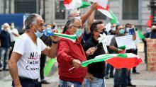 Head of Italy's Lombardy region given police escort as COVID anger mounts