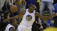 Kevin Durant helps Warriors strike first blow in NBA Finals 'Trilogy'