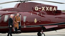 Royal Family defends Prince Charles flying by helicopter to make speech about the environment