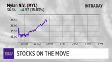 Stocks on the move: mylan n.v, mosaic company and more