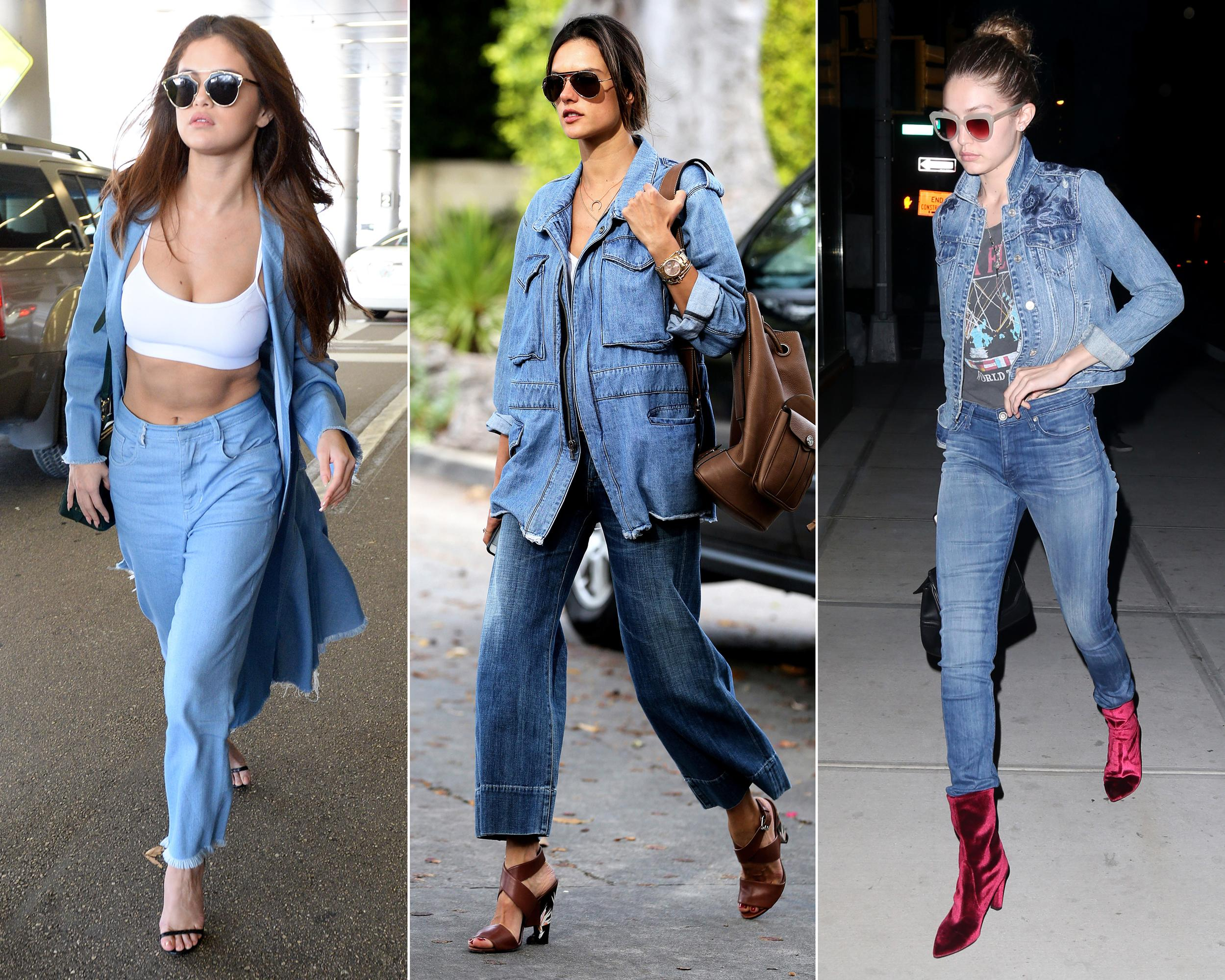 10 New Celebrity-Approved Ways to Double Up on Denim