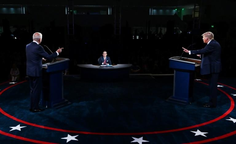 The presidential debate was as bad-tempered as had been feared
