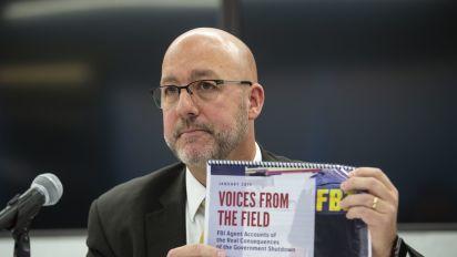 FBI agents say shutdown hurting U.S. protection