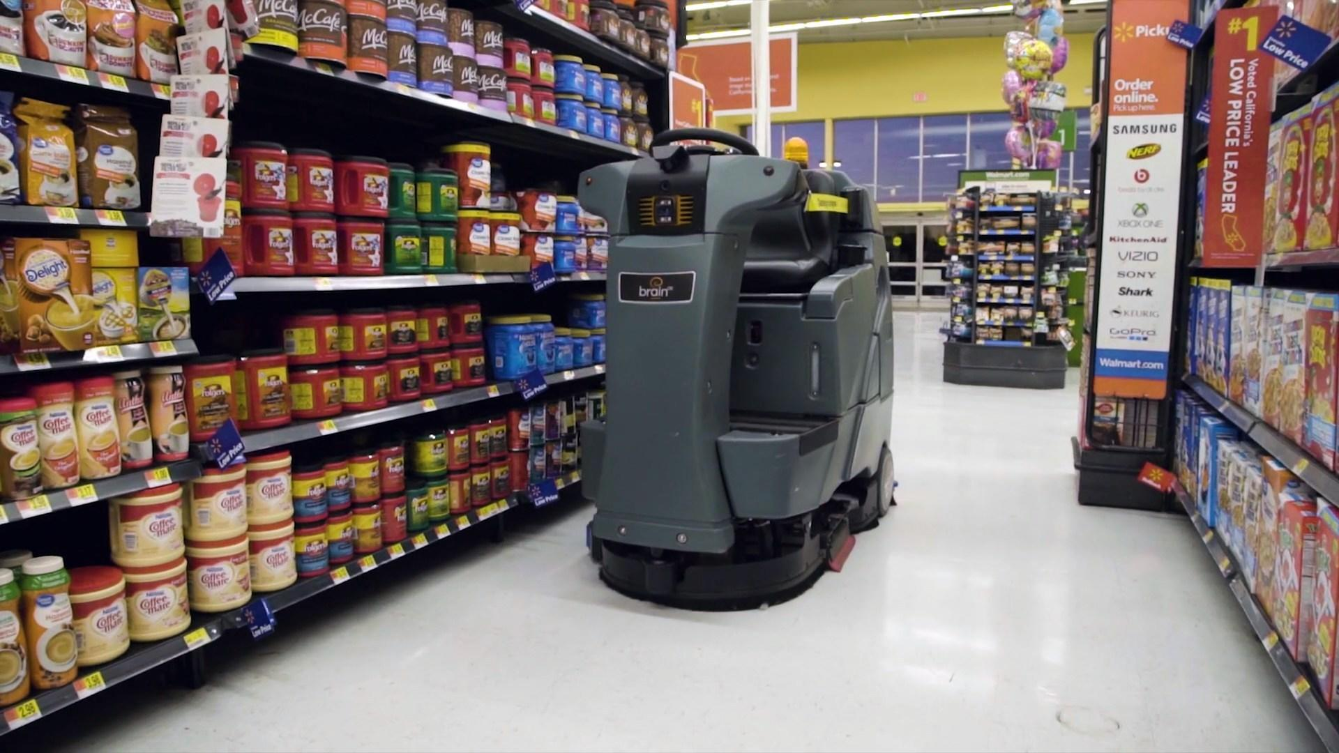AI-Powered, Self-Driving Robots Are Taking On a Bigger Role at Walmart Stores