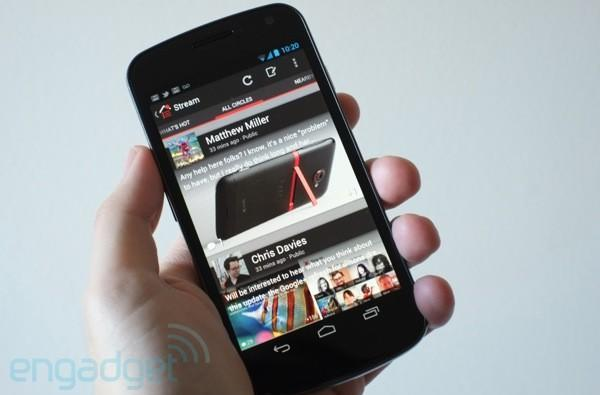 Google+ on Android gets its turn at a UI remake, extra Hangout and photo features in the bargain