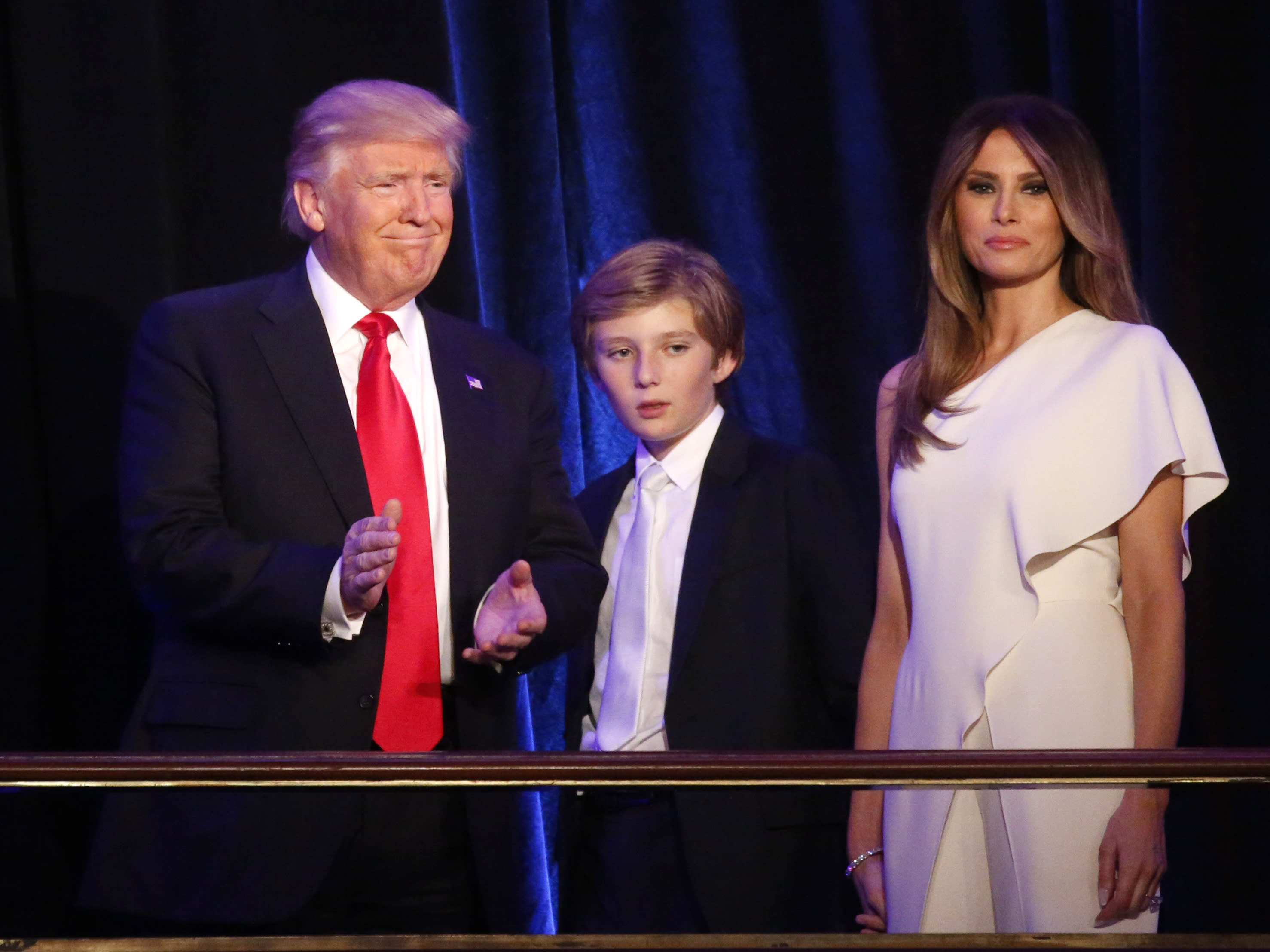 Rosie O'Donnell Clarifies Barron Trump Autism Comments