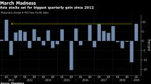 Asian Stocks Fall Ahead of Fed; Dollar Steadies: Markets Wrap