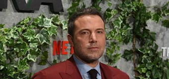 Affleck opens up about using antidepressants