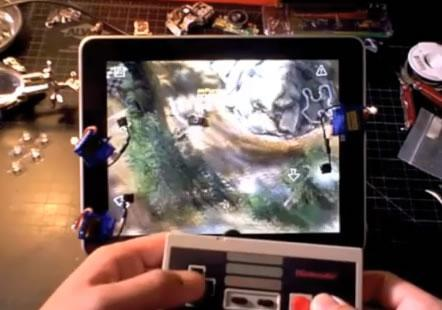 RoboTouch brings NES controller to iPad