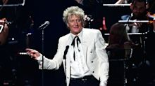 Sir Rod Stewart reveals he needed a bottle of wine to write his early hits