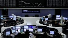 Trade tensions send European shares to six-month lows
