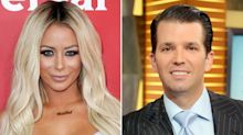 Donald Trump Jr.'s Alleged Ex-Mistress Posts Sexy Easter Photo as He Celebrates with His Kids