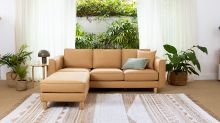 Can you spot what's different about this Aussie sofa?