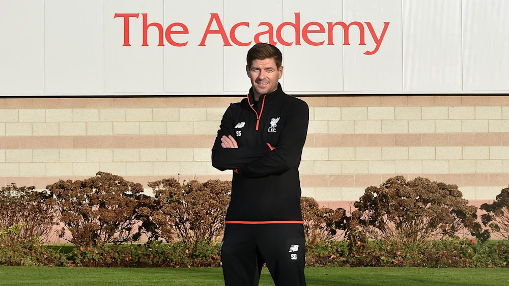 OFFICIAL: Steven Gerrard will manage Liverpool Under-18s next season
