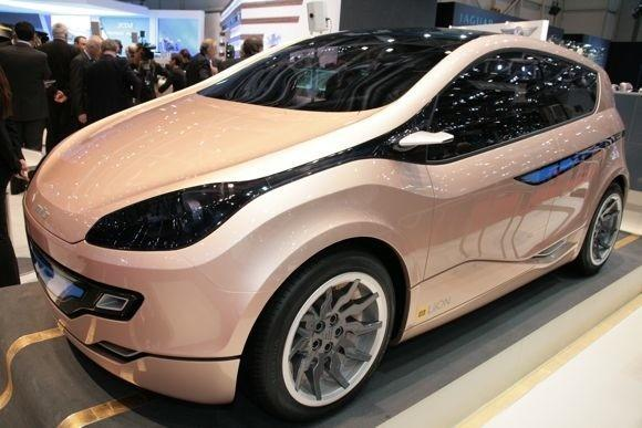 Magna, Mitsubishi show off electric vehicle concepts in Geneva