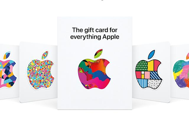Apple now offers a single gift card for digital and physical purchases