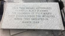 Bank Of Montreal replaces plaques commemorating killing of Iroquois chief