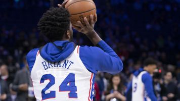 In his return, Embiid wears No. 24 to honor Kobe