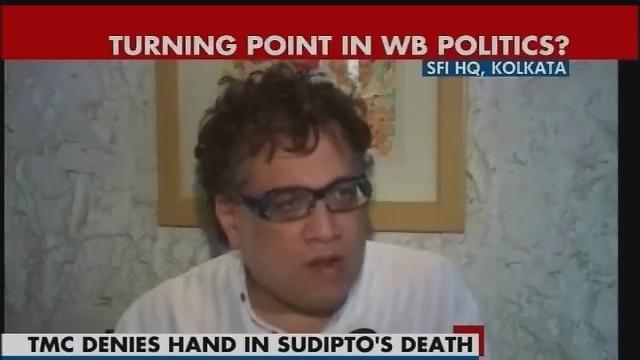 TMC leader says Sudipto's death an accident, not a political murder