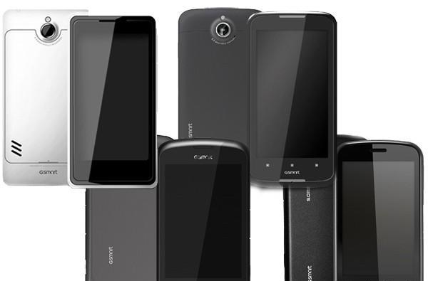 Gigabyte outs four dual-SIM Ice Cream Sandwich phones at Computex