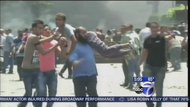 Deadly turmoil continues in Egypt