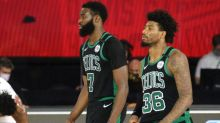 Report: Marcus Smart and Jaylen Brown bickered in Celtics' locker room