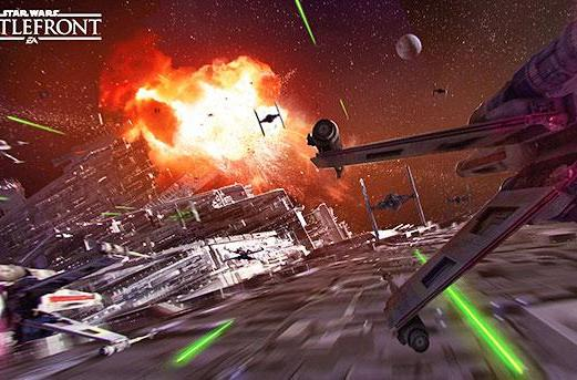 Watch how 'Star Wars: Battlefront' portrays the Death Star
