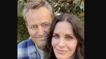 Matthew Perry makes a rare cameo on Courteney Cox's Instagram: 'Real friends'
