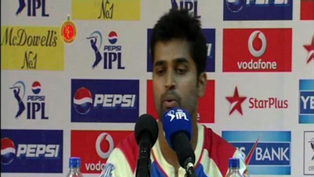 Royal Challengers Bangalore post-match press conference