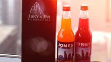 Premium soda delights served up at impressive city heights: Sky View Observatory partners with Jones Soda Co