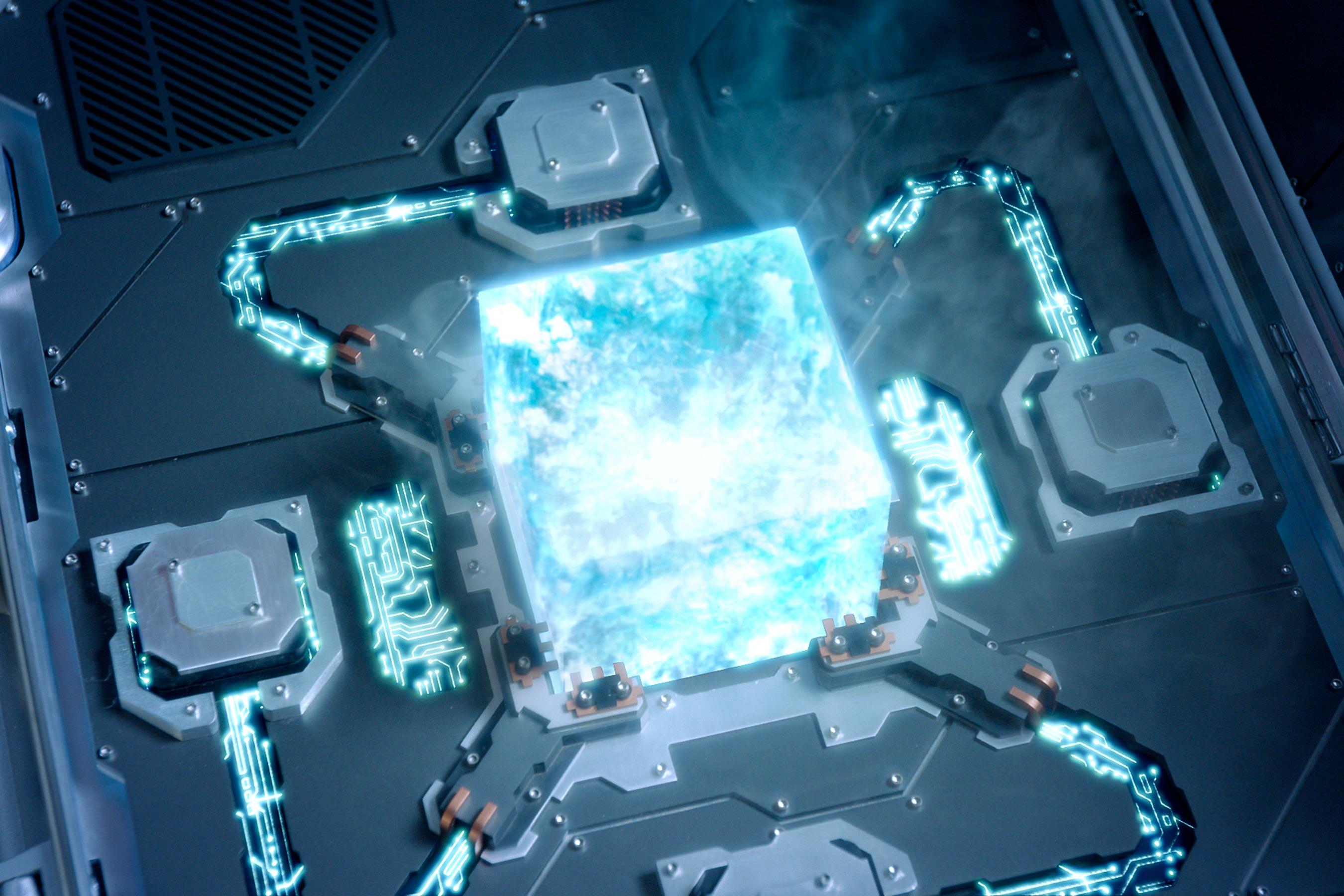 The Space Stone (otherwise known as the Tesseract) is the one with the most screen time so far, first showing up in <em>Thor</em>'s end-credits scene, then during World War II, when the Red Skull used the Tesseract to create weapons for Hydra. Finally, as we saw in <em>The Avengers</em>, the cube's primary function was revealed to be to create portals and control space. <strong>Current location:</strong> With Loki, who stole it from Odin's vault.