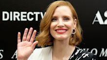 Jessica Chastain labelled a 'hypocrite' for hiring a director with an alleged history of domestic violence