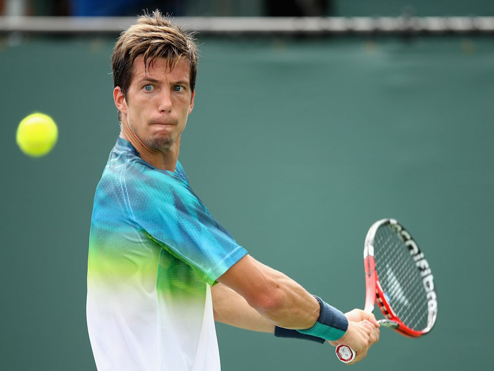 Aljaz Bedene has been unable to represent Great Britain in the Olympics or the Davis Cup: Getty